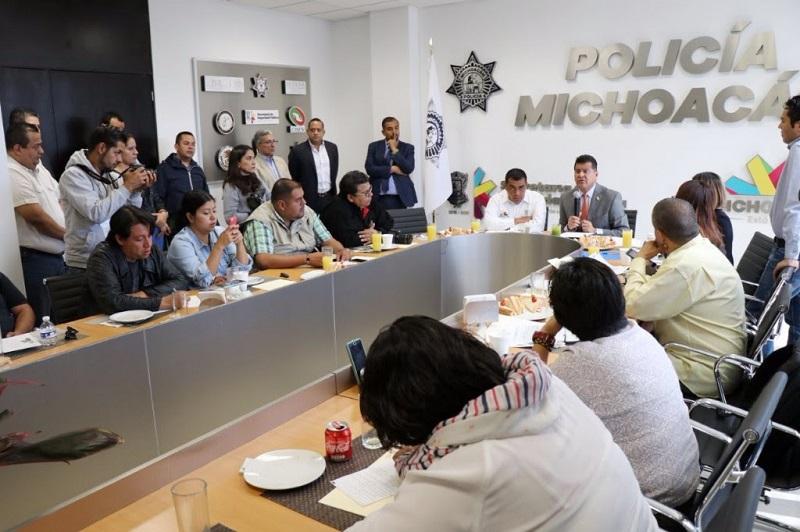 Corona Martínez detalló que en el caso de Morelia las acciones iniciarán a las 22:00 horas del próximo día 14 y concluirán el día 16, después del desfile cívico militar