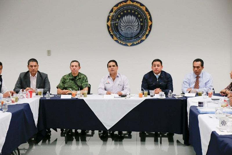 Encabezó el gobernador Silvano Aureoles reunión extraordinaria del GCM en Uruapan