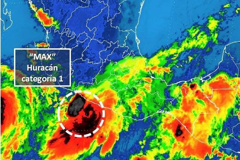 Se espera la presencia de oleaje de dos a tres metros en las costas michoacanas, por lo que recomienda extremar precauciones a la navegación