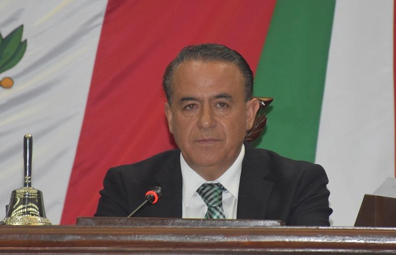 """""""En Michoacán aprehendimos a convivir y tomar decisiones incluyentes. Hemos sido y somos un referente nacional, un laboratorio político que encabeza los grandes cambios democráticos del país"""", indicó Sigala Páez"""