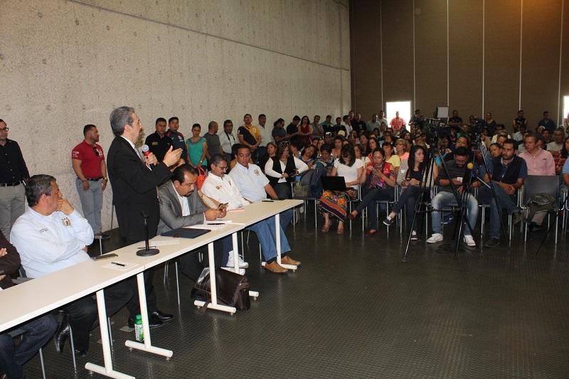 En un ambiente de respeto y diálogo se lleva a cabo la primera reunión de las autoridades nicolaitas con el nuevo sindicato