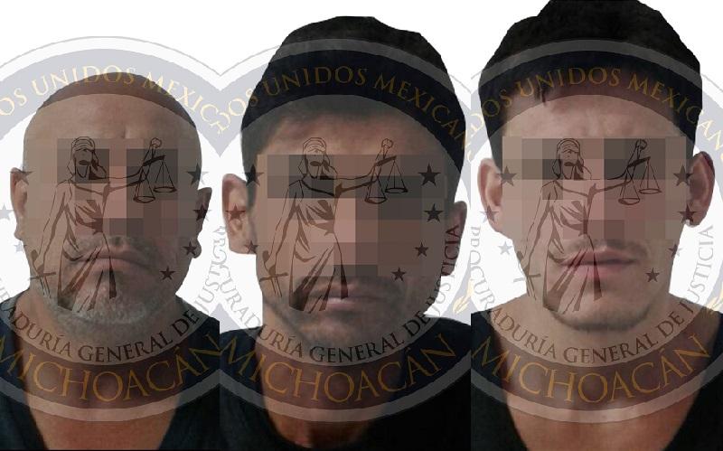 Las investigaciones continúan a efecto de confirmar dicha relación y la participación de los detenidos en otros delitos