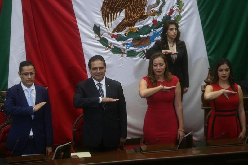En esta ocasión, la Mesa Directiva del Congreso del Estado será presidida por el diputado del Partido Acción Nacional (PAN), Miguel Ángel Villegas