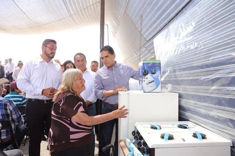 En este municipio se dio muestra de solidaridad, destaca Aureoles Conejo