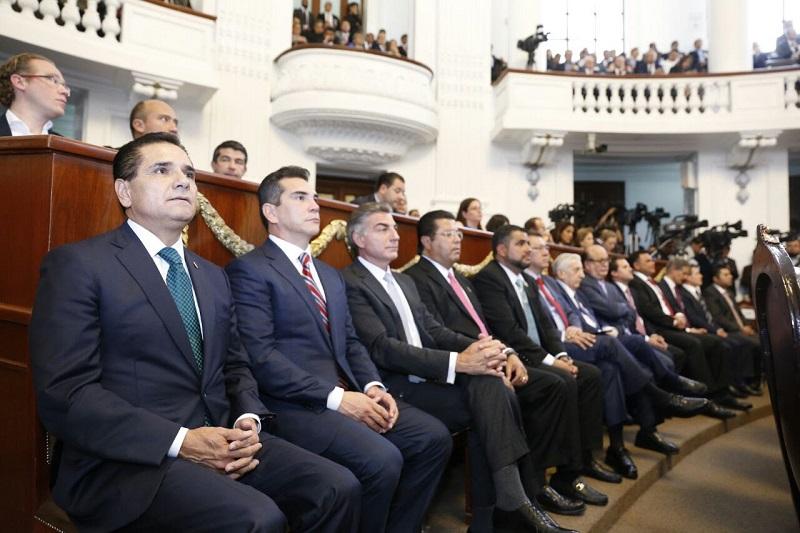 Aureoles Conejo confió en que continuarán trabajando de manera conjunta para construir acuerdos y políticas que favorezcan a los habitantes de ambas demarcaciones