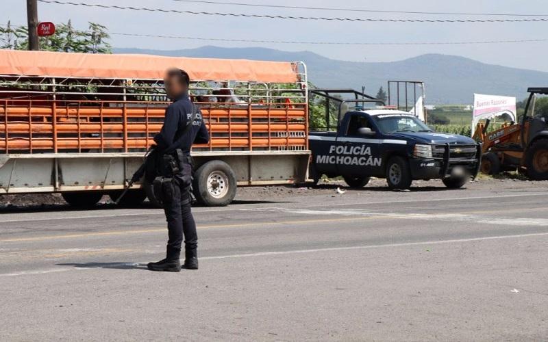 Por instrucción del titular de la SSP, Juan Bernardo Corona, las acciones operativas continuarán en la región para impedir el asentamiento de células delictivas en la entidad
