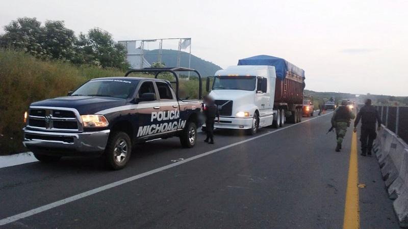 Los detenidos, Rigoberto B., y Enrique S., serán puestos a disposición de la autoridad correspondiente para resolver su situación jurídica