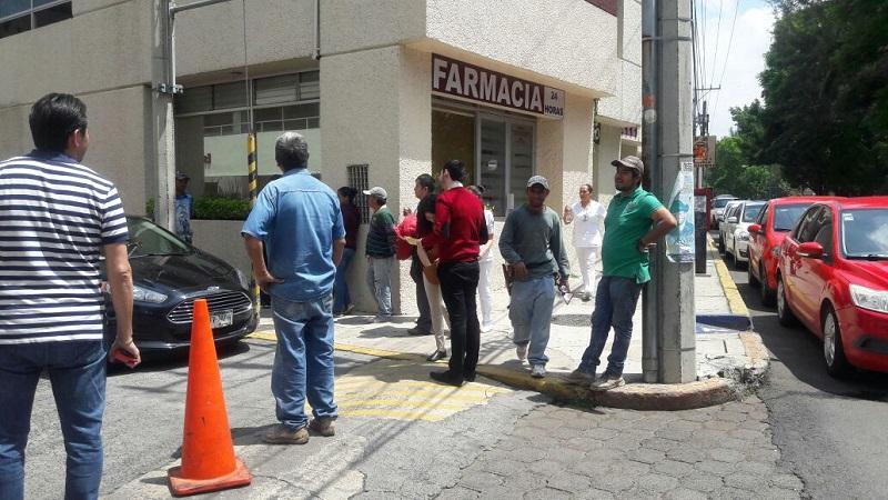 El movimiento telúrico se registró a las 13:14 horas del centro de México