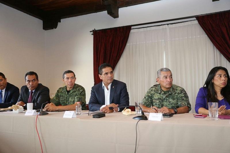 Aureoles Conejo convocó a apoyar con víveres a los damnificados de la Ciudad de México, Morelos, Puebla, Guerrero y Oaxaca