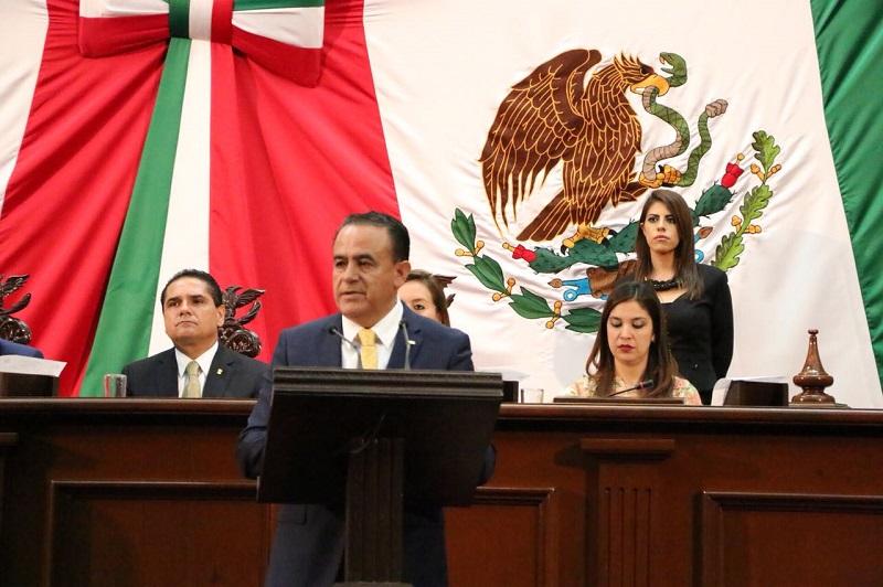 Pascual Sigala recalcó que Michoacán no está para estar divido y es con trabajo coordinado que se ha logrado superar las adversidades y caminar al bienestar y progreso y bajo esa ruta debe de continuar para seguir avanzando y dando resultados a la gente