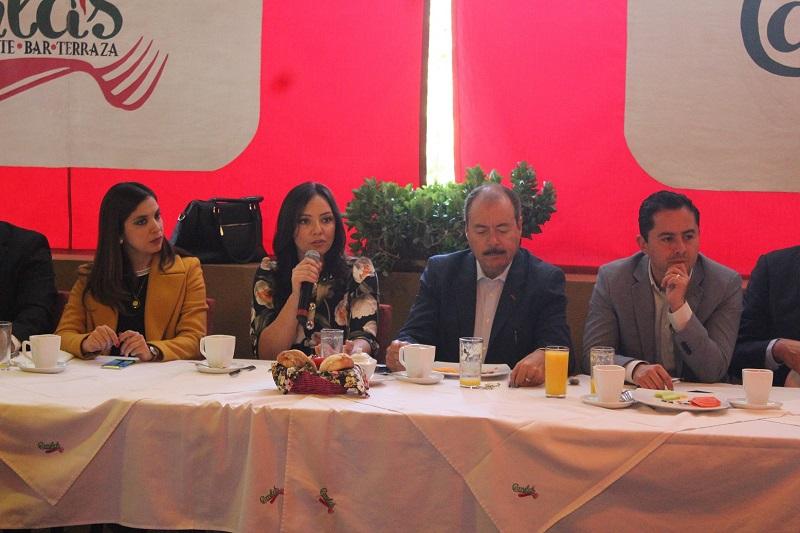Reiteran su compromiso de coadyuvar en la construcción de un Michoacán más próspero, democrático e incluyente, en el que la paz y la reconciliación social sean posibles