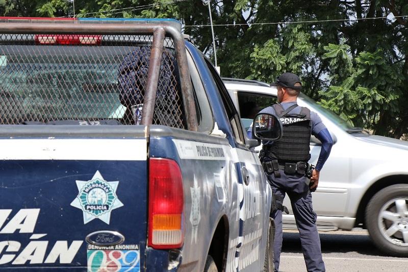 En coordinación con autoridades de los tres órdenes de gobierno, la SSP trabaja con acciones operativas definidas para abonar a la tranquilidad y seguridad de las y los michoacanos