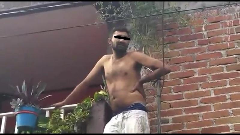 El individuo fue detectado el pasado domingo al interior de un domicilio particular y entregado a la Policía de Morelia, lamentablemente todo indica que no recibirá castigo