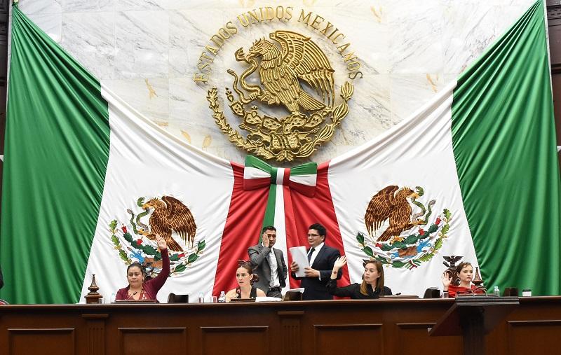 """Entre otros temas, se declaró el """"ha lugar"""" a reformar los artículo 95, 96 y 97 de la Constitución Política del Estado y al 95 del Decreto Legislativo 555 aprobado por la Septuagésima Segunda Legislatura, que tiene la finalidad de establecer el fundamento de la Ley de Designaciones del Estado de Michoacán"""