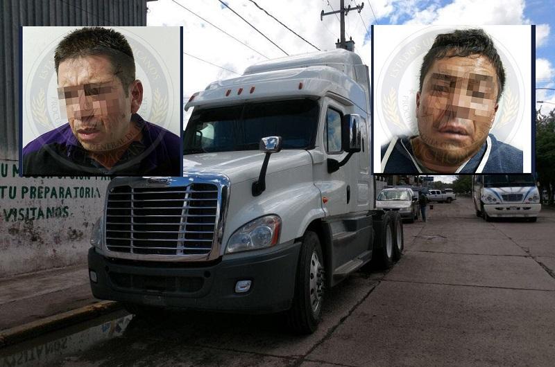 El vehículo fue robado en el estado de Querétaro y localizado en La Piedad