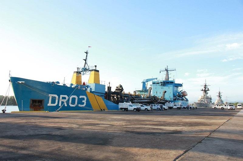Cabe destacar que en próximas fechas se espera el arribo al Puerto de Lázaro Cárdenas, de otro buque de la Secretaría de Marina - Armada de México para el traslado de ayuda humanitaria
