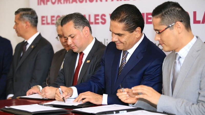 Aureoles Conejo hace un llamado a la clase política a blindar el proceso electoral de la delincuencia
