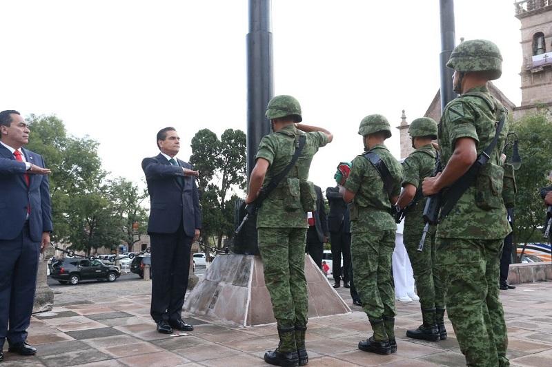 En esta actividad estuvieron presentes integrantes del Gabinete Legal y Ampliado del Gobierno del Estado, así como diversas autoridades