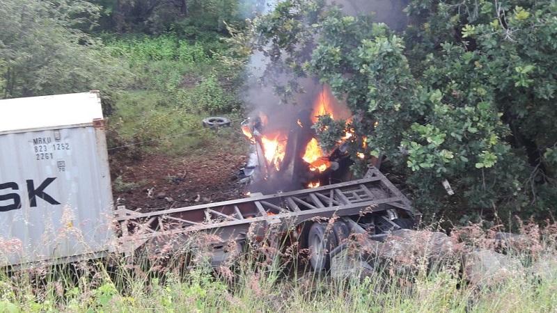Los hechos se registraron en el tramo carretero ubicado entre Taretan y la Caseta de Santa Casilda