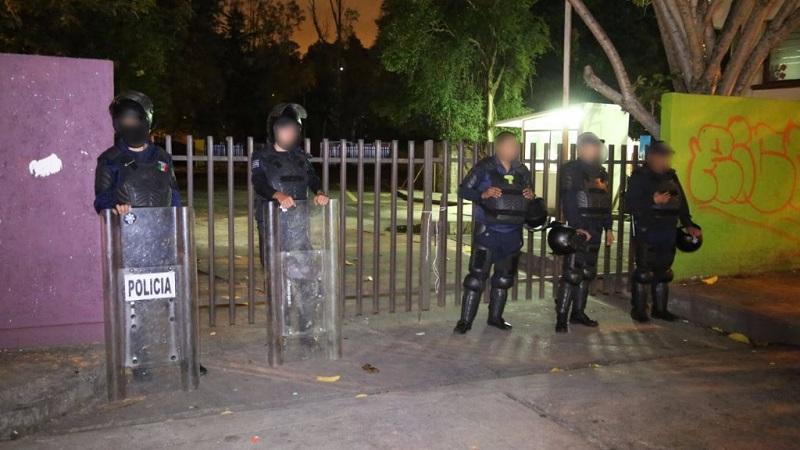Tras el diálogo, los manifestantes liberaron las instalaciones del IIFEEM de manera pacífica