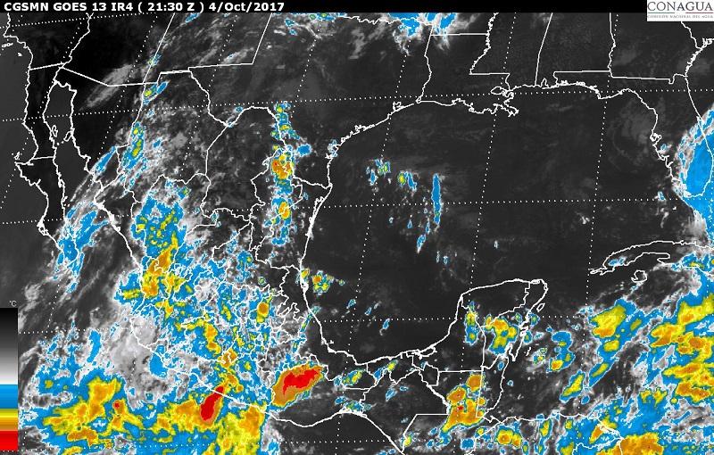 La madrugada de hoy, en el Océano Pacífico, se desarrolló la tormenta tropical Ramon al sur de las costas de Oaxaca
