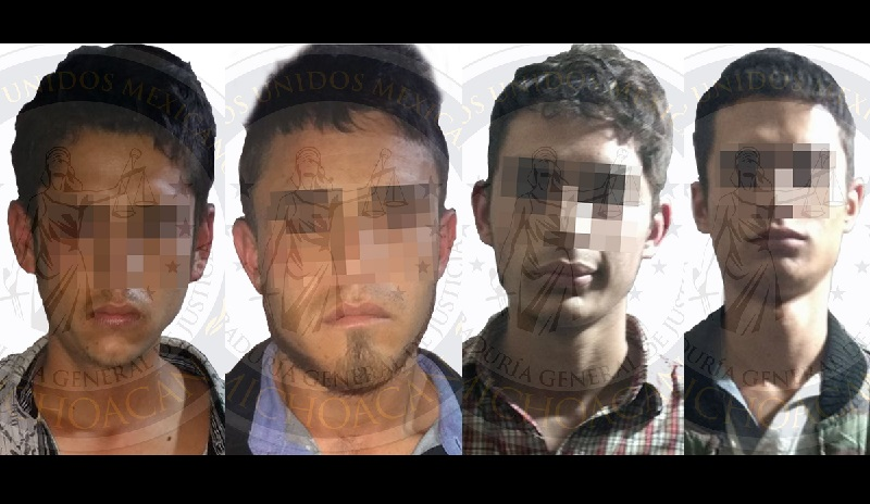 La detención se realizó durante un operativo derivado del robo de un vehículo sobre la autopista Siglo XXI.