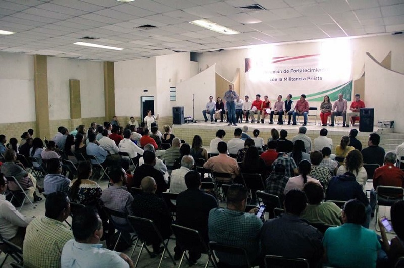 """""""En el PRI estamos actuando respecto a las exigencias de la ciudadanía, a las preocupaciones más sentidas de la sociedad; estamos respondiendo con hechos"""": Silva Tejeda"""