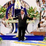 Los ministros que le acompañan en esta etapa de su Gira Universal, provenientes de Europa, Norte, Centro, Sudamérica, continuarán con su agenda de visita a las iglesias de ese culto en el Estado