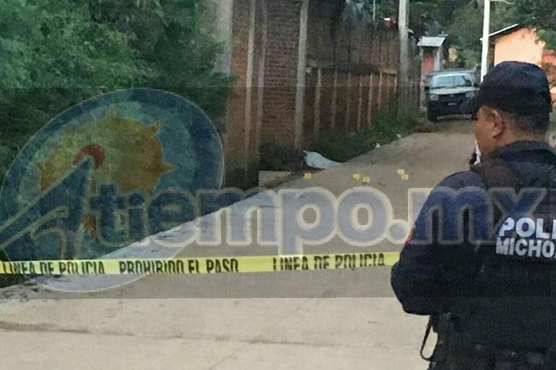 En el sitio efectivamente estaban los dos cuerpos, por lo que de inmediato acordonaron la zona para preservar la escena del crimen