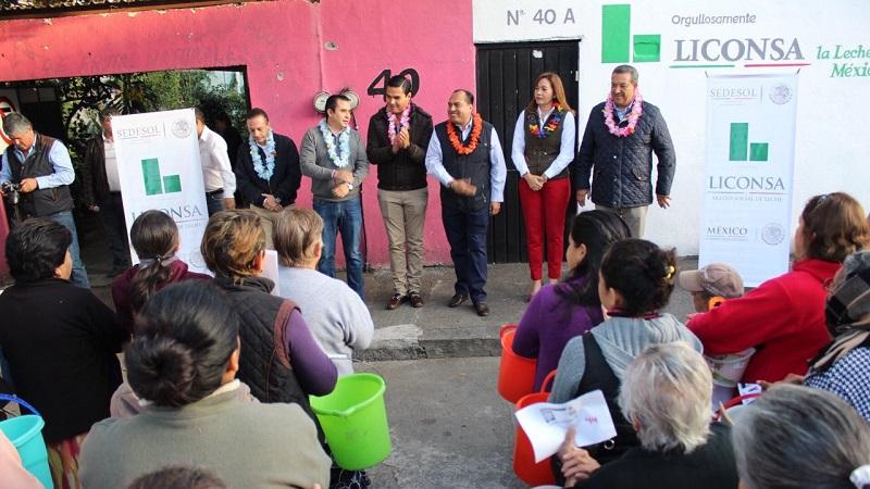 Durante la presente administración, se ha incrementado en un 85 por ciento el número de lecherías que diariamente operan en Morelia