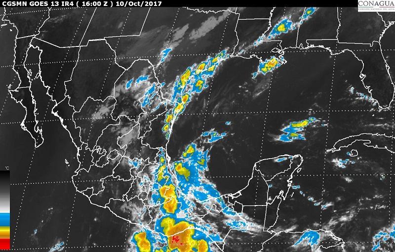 La Conagua y el SMN exhortan a la población a mantenerse informada sobre las condiciones meteorológicas mediante las páginas de internet www.gob.mx/conagua y http://smn.conagua.gob.mx