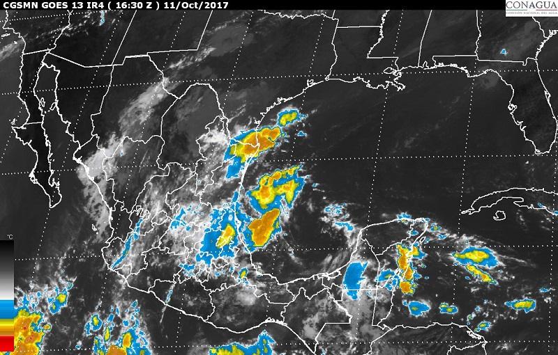 Evento de Norte con rachas de viento superiores a 60 km/h, se prevé en las costas de Tamaulipas y Veracruz, y se extenderá hasta el Istmo de Tehuantepec