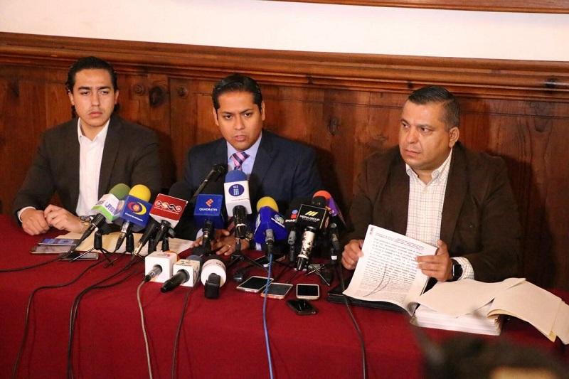 Daniel Moncada e Ignacio Mendoza llamaron a la PGR a dejar de utilizar la institución para fabricar delitos y aplicar la justicia de forma selectiva