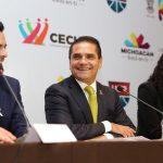 Este proyecto deportivo será un parteaguas para la entidad; Silvano Aureoles está haciendo historia, afirma el presidente del circuito, Sergio Ganem Velázquez