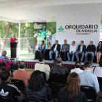 La Expo Orquídea Otoño 2017 está abierta al público de 10:00 a 18:00 horas. En este marco se realizan talleres para niñas, niños y adultos sobre cultivo de orquídeas
