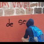 En esta ocasión, marchan en Morelia supuestos estudiantes de la Escuela Normal Indígena de Cherán y de la Escuela Normal Rural de Tiripetío, que se quejan de represión