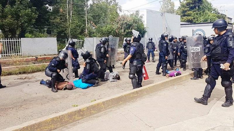 ¡Tome sus precauciones! Para este domingo está previsto que podría haber una nueva marcha de normalistas en la ciudad de Morelia
