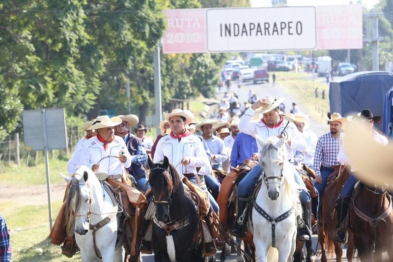 El mandatario estatal señaló que la encomienda militar que Morelos emprendió para construir al México libre, representa el valor que caracteriza a las mexicanas y mexicanos
