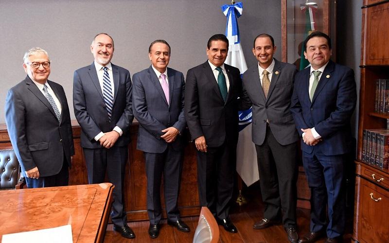Durante la reunión, ambos compartieron coincidencias en el proyecto para conformar el Frente Ciudadano por México que hoy se coloca como la mejor alternativa de gobierno para el país en el 2018, de acuerdo con las encuestas más recientes