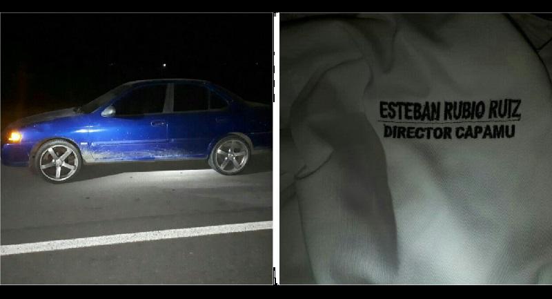 Aproximadamente a la 01:30 de la madrugada reportaron sobre la carretera Cuatro Caminos - Apatzingán a la altura del entronque El Ceñidor una persona tirada en la cinta asfáltica con líquido hemático