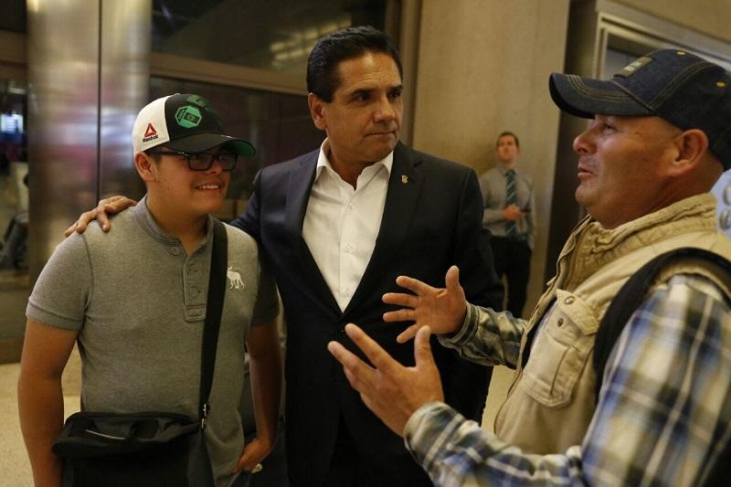 Las actividades del gobernador Aureoles Conejo darán inicio en el Museo Forest Lawn, con un encuentro con representantes de medios de comunicación de habla hispana