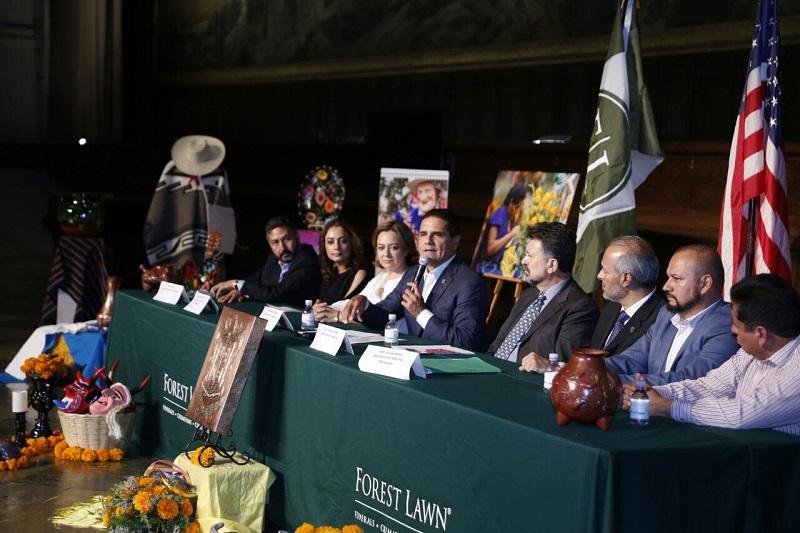 Michoacán en Los Ángeles, valiosa oportunidad para nuestro estado: Silvano
