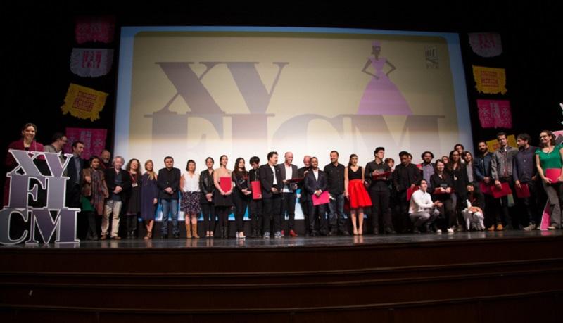 La decimoquinta edición del Festival Internacional de Cine de Morelia (FICM) celebró su ceremonia de premiación en el Teatro Ocampo