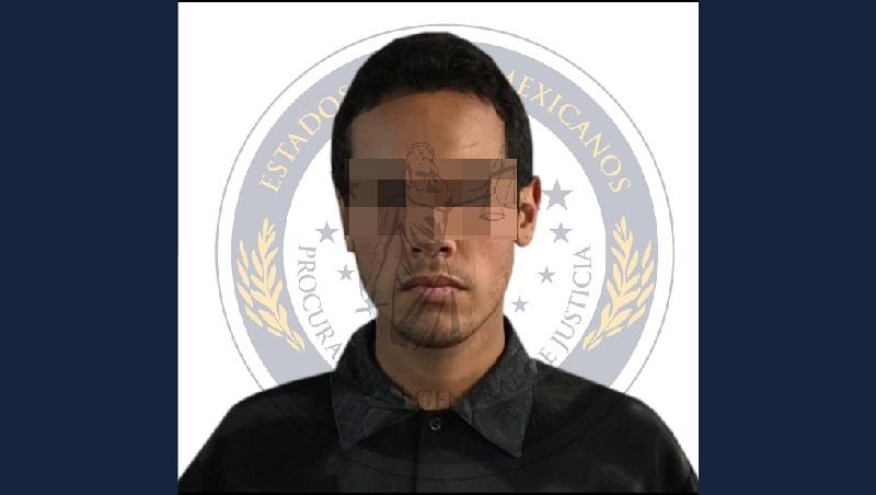 El ahora detenido fue presentado ante el juez de control a efecto de que sea resuelta su situación jurídica por el delito de homicidio calificado