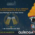 Llega el Segundo Festival Cultural, Gastronómico y de la Cerveza Quiroga Noche de Muertos