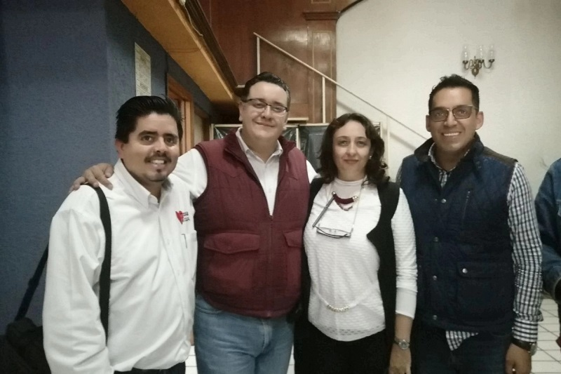 Muy fuerte la estructura territorial del Morena en Morelia: Osvaldo Ruiz