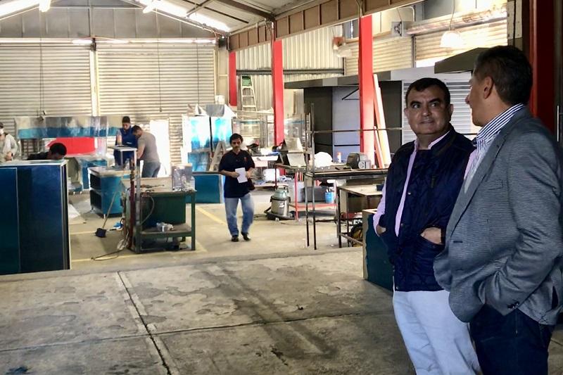 Constantino  enfatizó la valía de los empresarios que además de generar empleos, tienen el compromiso de ayudar a la comunidad en la que están asentadas sus empresas