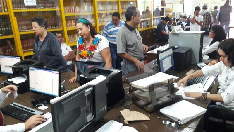 En Morelia, durante octubre estarán ubicados en las instalaciones de la Facultad de Contabilidad de la UMSNH y en la Administración de Rentas, en la avenida Lázaro Cárdenas