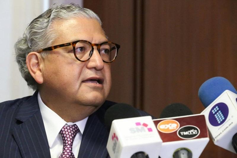 Maldonado Mendoza refrenda la disposición del Gobierno de Michoacán para privilegiar el diálogo para lograr acuerdos con los sindicatos, a quienes exhorta a no realizar acciones que perjudiquen a la población