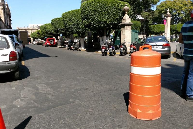 De plano, la Policía de Morelia sigue haciendo de las suyas (FOTO: FRANCISCO ALBERTO SOTOMAYOR)